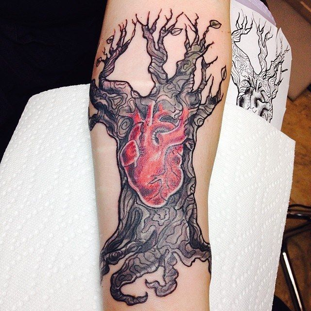 27 Deep Rooted Family Tree Tattoos and Meanings Willow