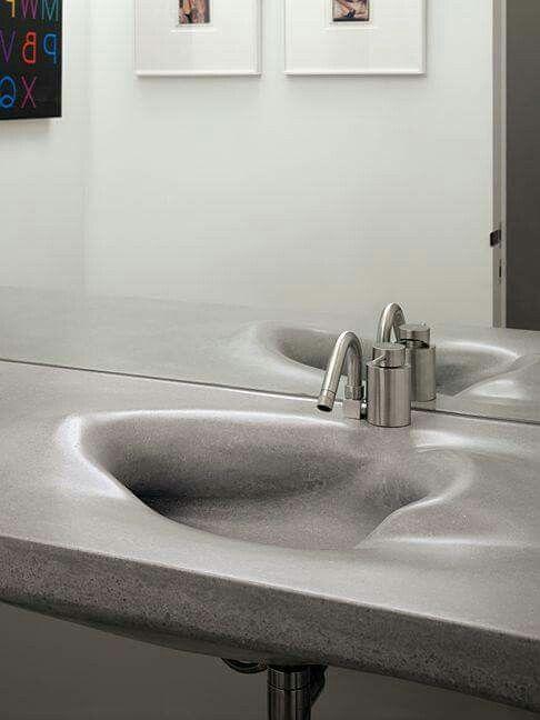 Дизайн ванны бетон купить смесь для бетона в краснодаре