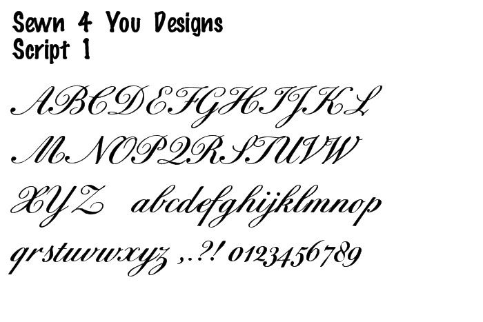 Tattoo Lettering And Fonts