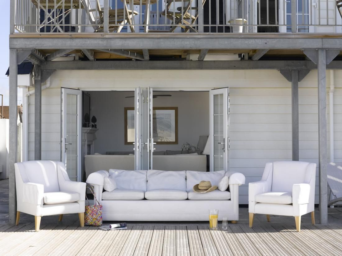nautical beach house on the english channel | maritime & beach