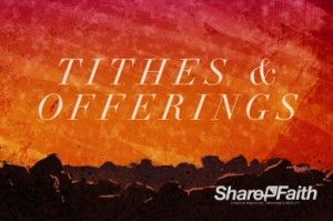 Let everyone know that it's time for tithes and offerings with this tithes and offerings video loop for your next Easter Sunday service. #Sharefaith #Easter #EasterMedia #Faith #ChurchMedia #VideoLoop