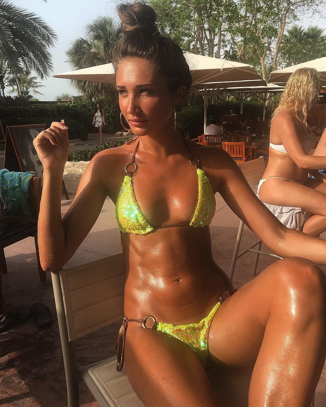 15b2df32428 Megan McKenna.. Beach Bunny 'Siren Song' bikini.. | 6 packs | Megan ...