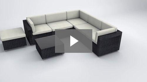 Amalfi Set 1 Moda Furnishings 6 Seat Modular Square Corner Sofa Grey Or Brown Design Your Own Sofa Grey Corner Sofa Sofa Corner Sofa