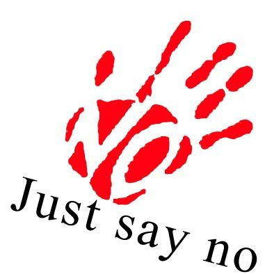 Image result for Images for Just say NO