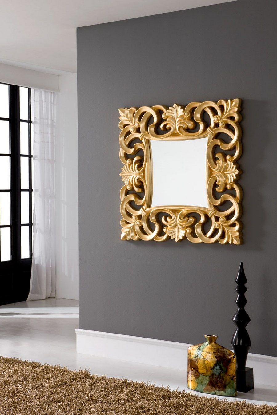 Espejo de corte clásico de #DugarHome. #decoración #hogar #espejos ...