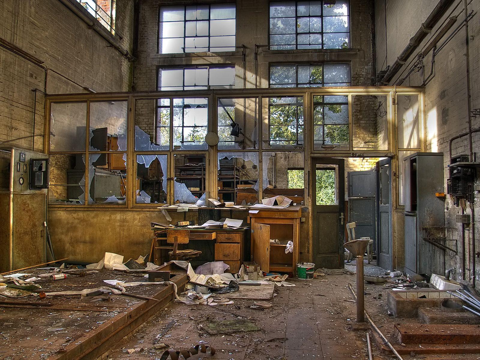Stock Detail Abandon Factory Abandoned Factory Abandoned Buildings Abandoned