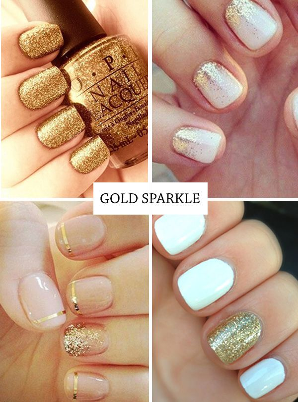 12 hot nail trends for the summer golden nails gold nail and 12 hot nail trends for the summer prinsesfo Images