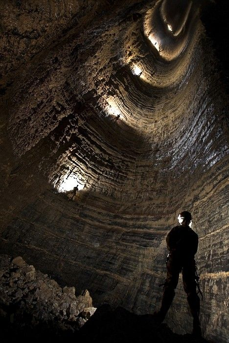 003 7,188 Feet Deep The Krubera Cave in Abkhazia Cave