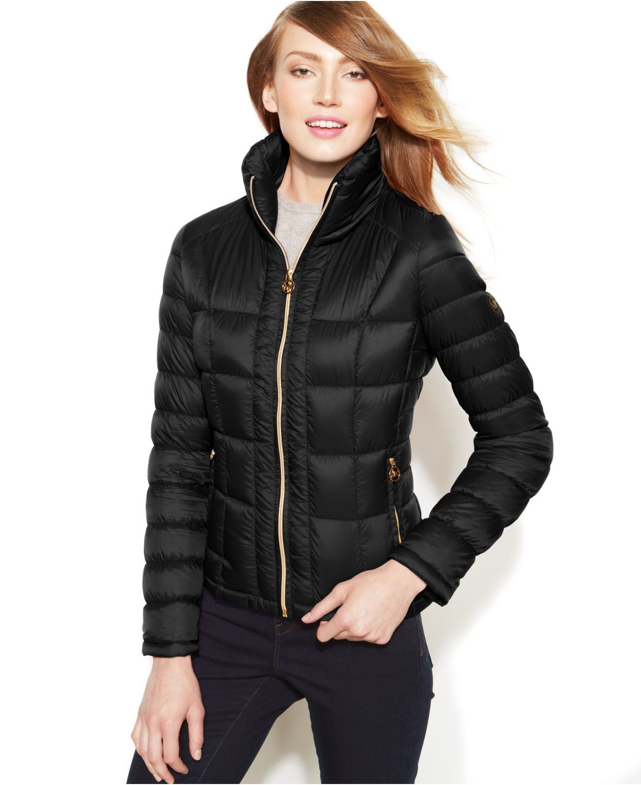f8463740c MICHAEL Michael Kors Packable Quilted Down Puffer Coat - Coats ...