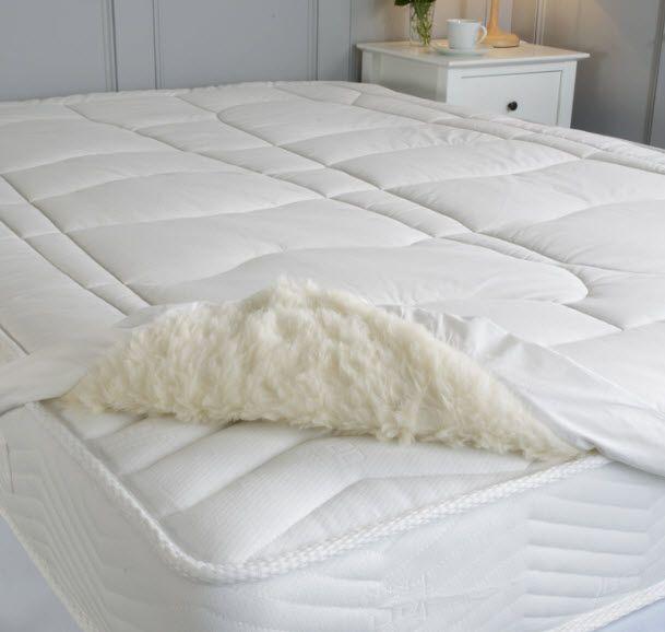 Wool Mattress Tops Wool Support Double Fleece Mattress Tops