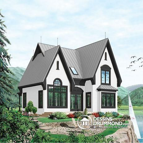 Plan de maison no W3920 de dessinsdrummond Demeures