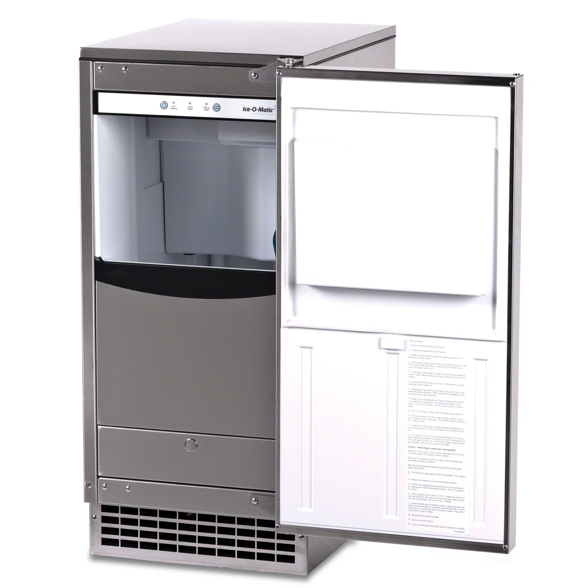 2518 Ice O Matic Gemu090 85 Lb Pearl Ice Undercounter Ice Machine Ice Machine Ice Maker Undercounter Ice Makers