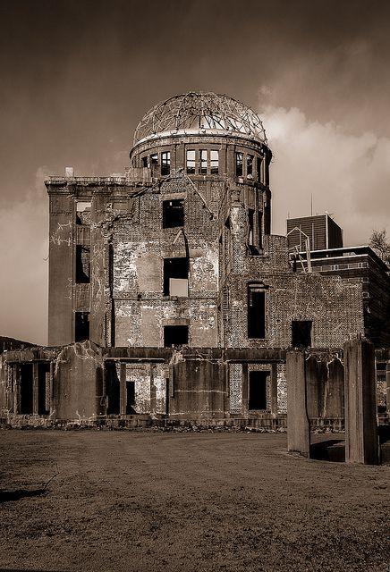 Atomic Bomb Dome Hiroshima Abandoned Abandoned Houses