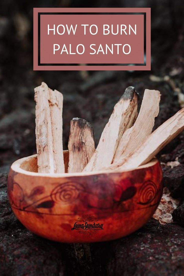 Click her to find out why and how to burn palo santo for