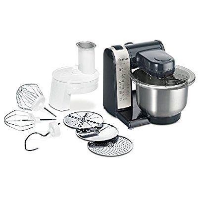 bosch mum48a1 küchenmaschine mum4 (600 watt 3.9 liter edelstahl rührschüssel