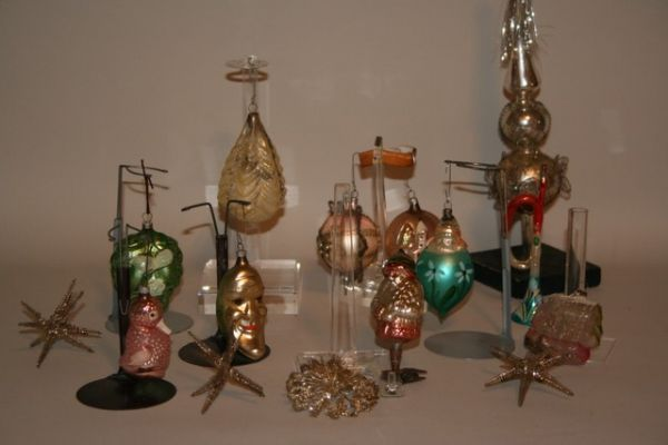 antique christmas decorations antique christmas glass ornaments