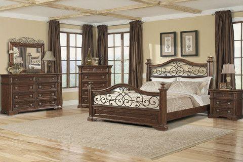 Best Arcadian 4 Piece King Bedroom Set From Huffman Koos With Images Master Bedroom Set Bedroom 640 x 480