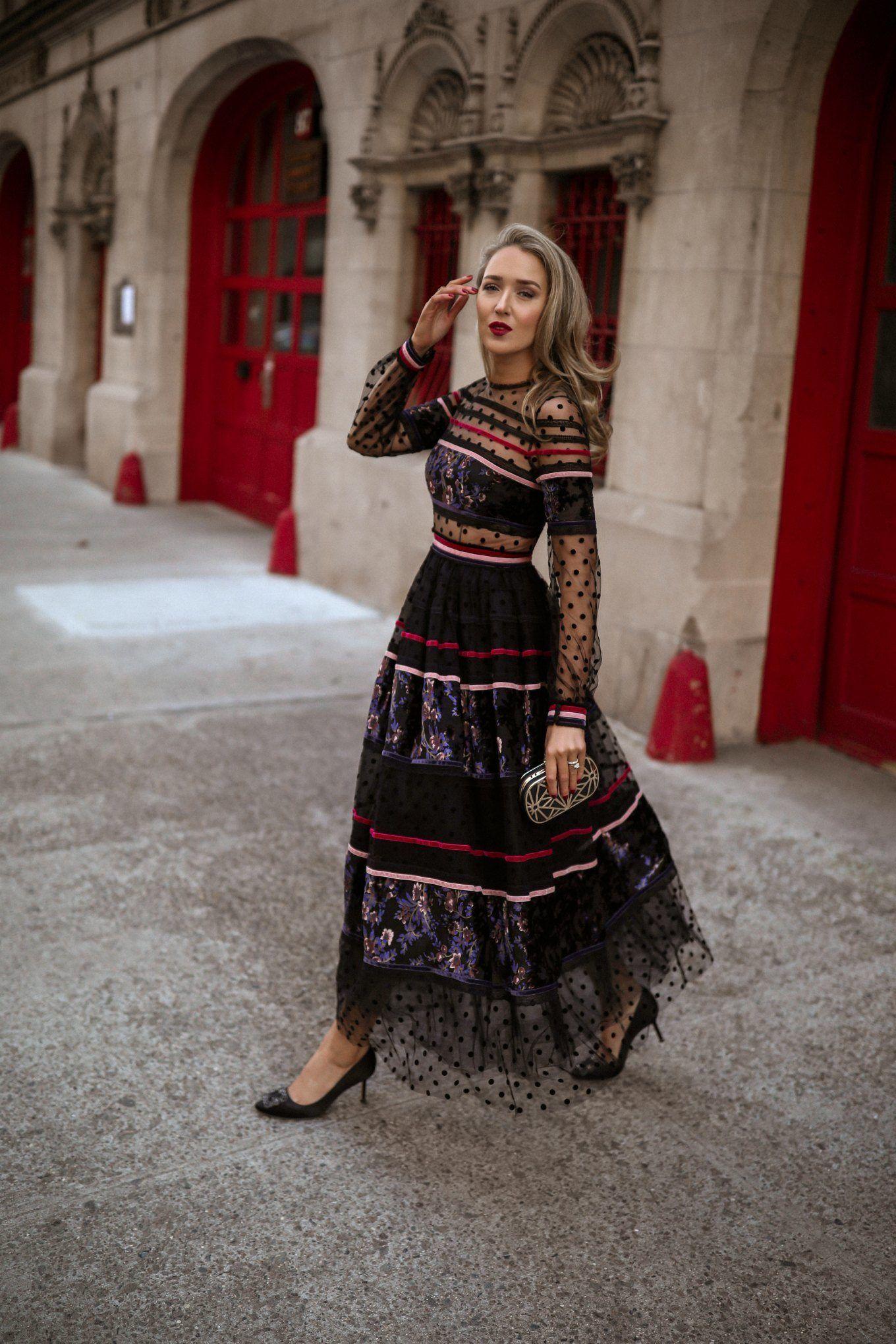 30 Dresses Black Tie Wedding Guest (With images) Black