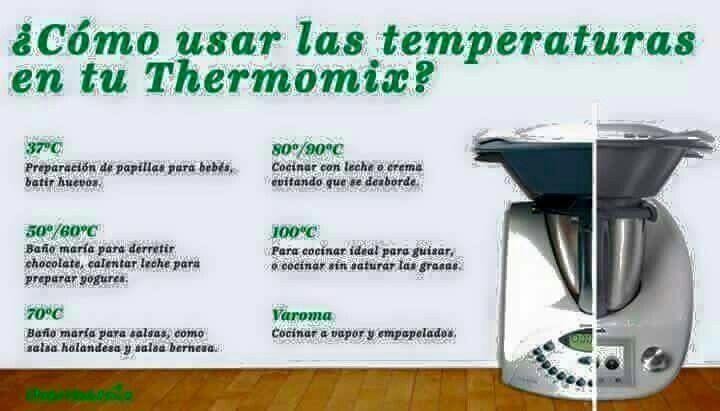 Temperatura Thermomix Thermomix Recetas Thermomix Recetas