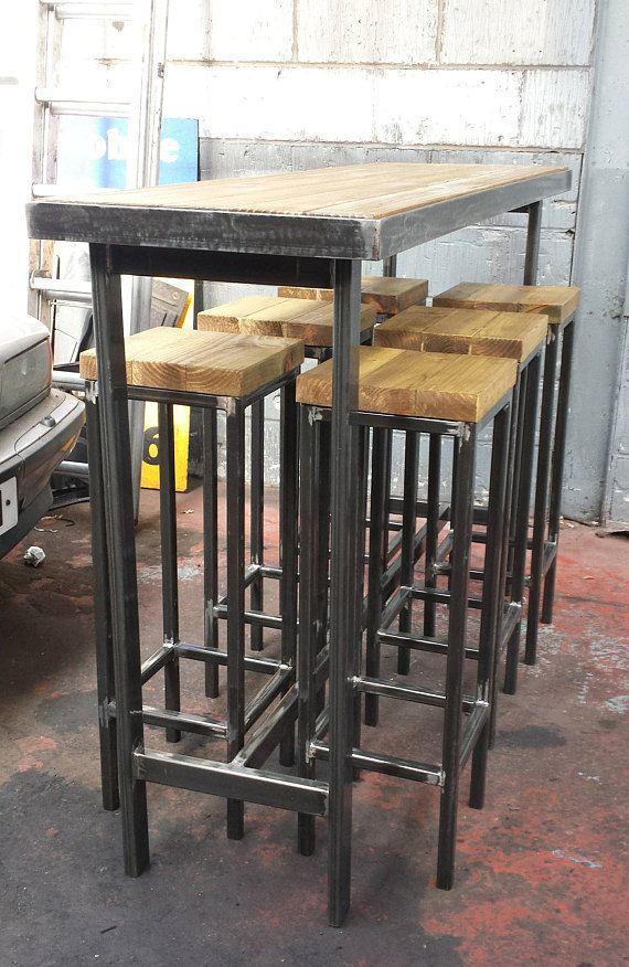 Handmade Bespoke Modern Industrial Outdoor Or Indoor Long