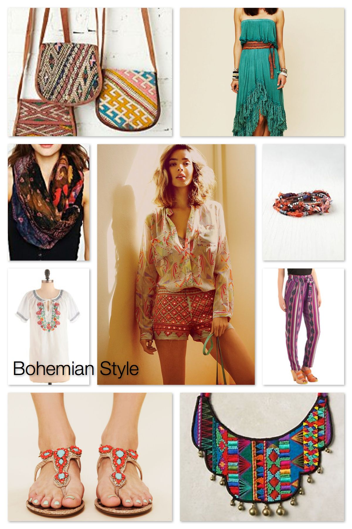 Bohemian Style Breakdown Chic Clothing Bohemian And Boho