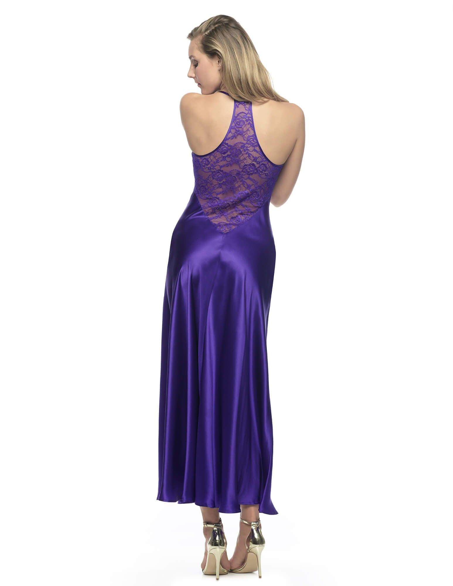 Gypsy Diva Long Gown in Ultra Violet