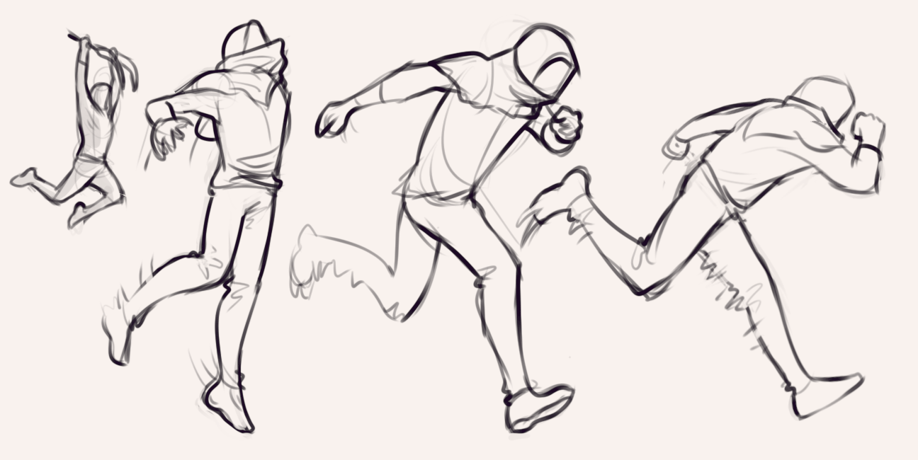 Pose Gesture Running And Jumping Drawing Reference Run Jump Anatomy Drawing Drill Challenge By Smirking Raven Figure Drawing Drawing Poses Running Art