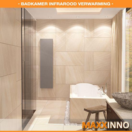 Maxxinno badkamer infrarood verwarming | Moodboard Woonboot ...