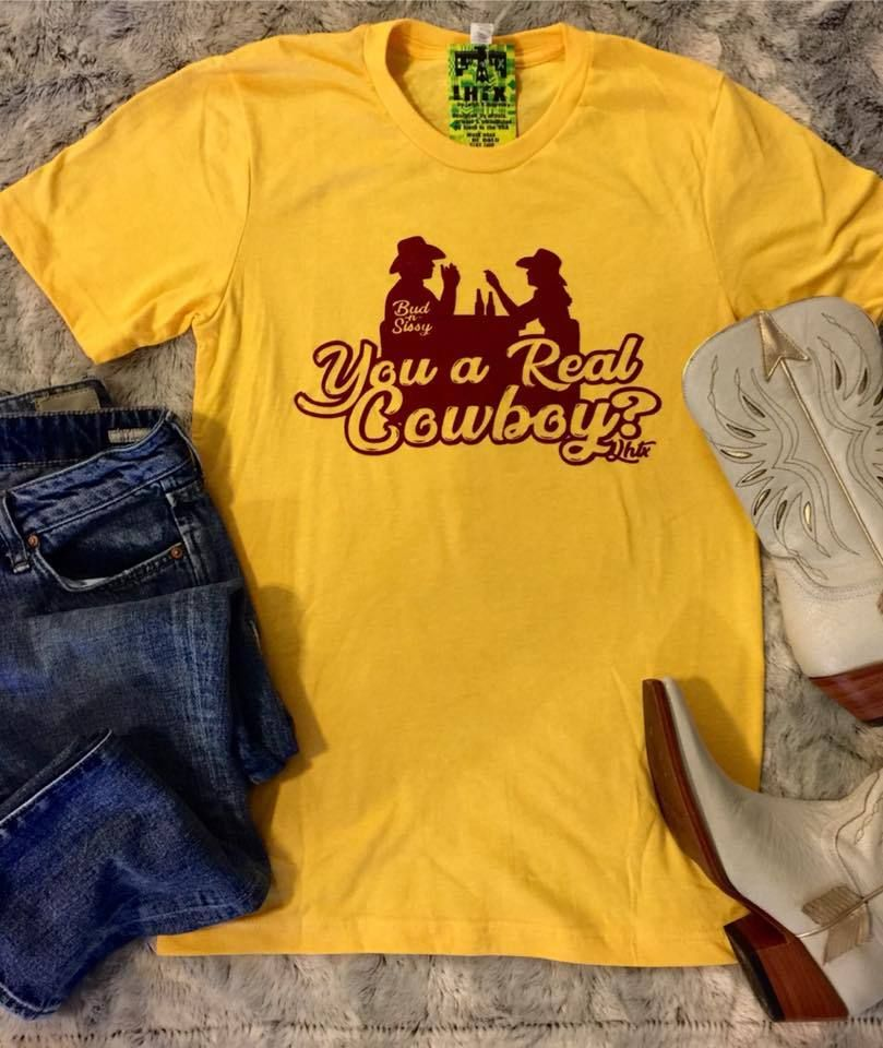 38625a5b Urban Cowboy - You A Real Cowboy Graphic Tee | Products | Real ...