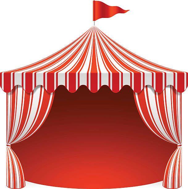 Bien connu Chapiteau de cirque, affiche fond - Illustration vectorielle  PQ75