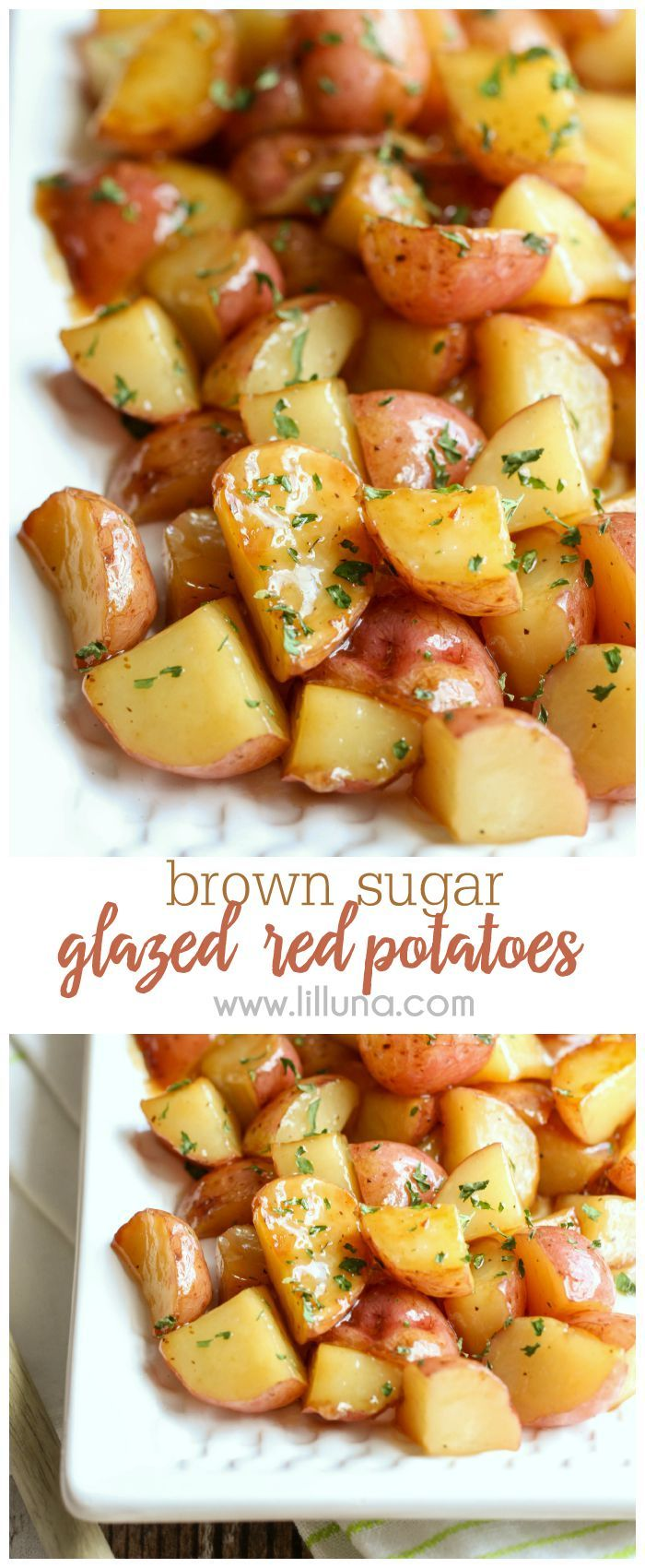 Brown Sugar Glazed Red Potatoes