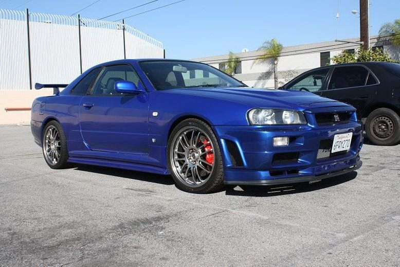 R34 Nissan Skyline Gt R Replica Used In Fast And Furious 4 Dream