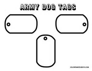 Military Dog Tag Template To Print Out Bing Images