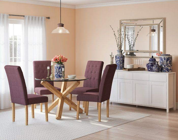 Super Oporto Dining Set With 4 Chairs Top Picks Wayfairs Best Uwap Interior Chair Design Uwaporg