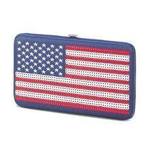 Patriotic Old Glory Hinge Wallet