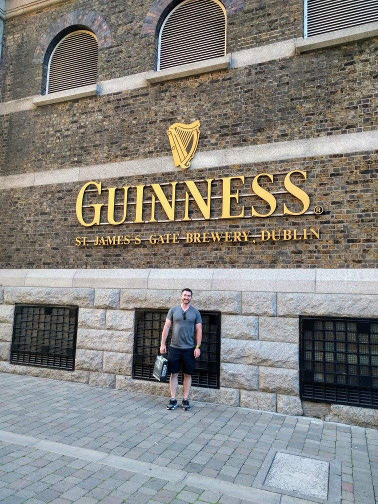 Guinness brewery in Dublin Guinness brewery, Global