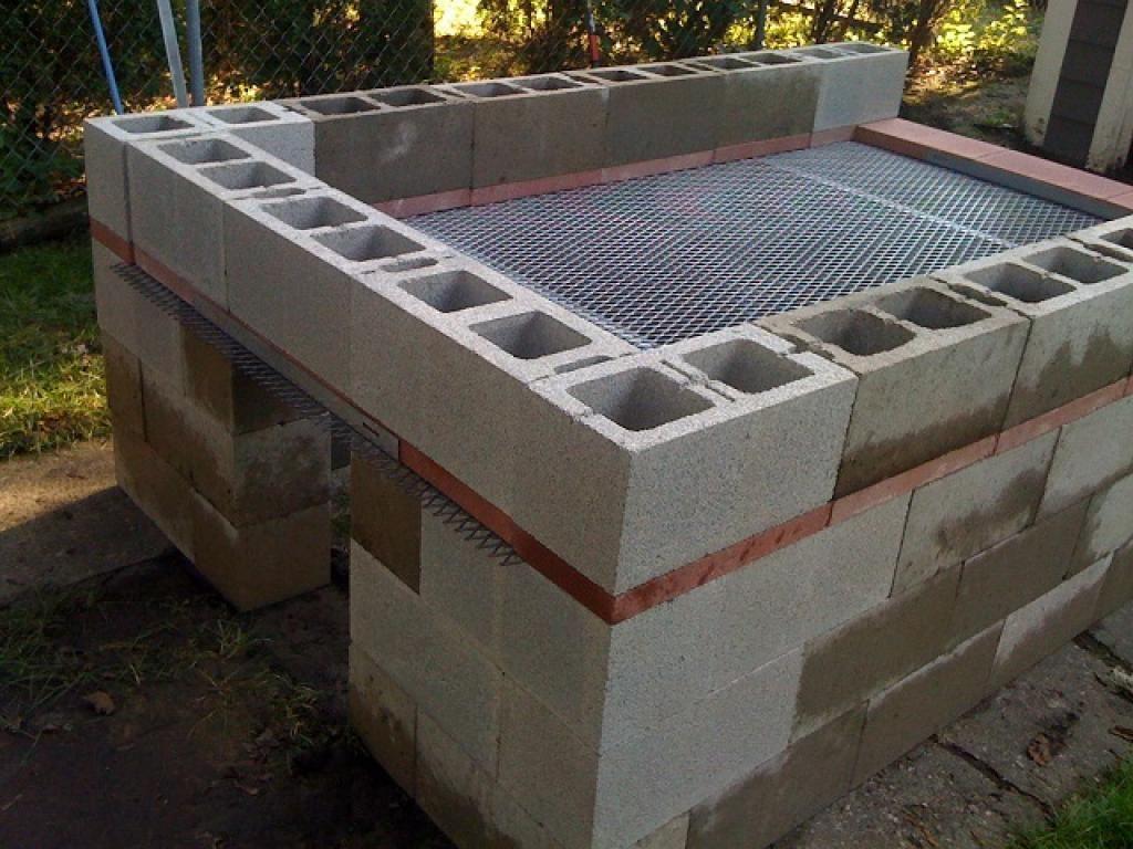 Comment Fabriquer Une Terrasse En Beton comment fabriquer un bbq extérieur pour 250$ | construire un