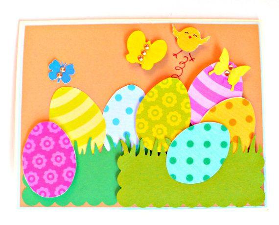 easter cards easter egg cards handmade easter card happy easter