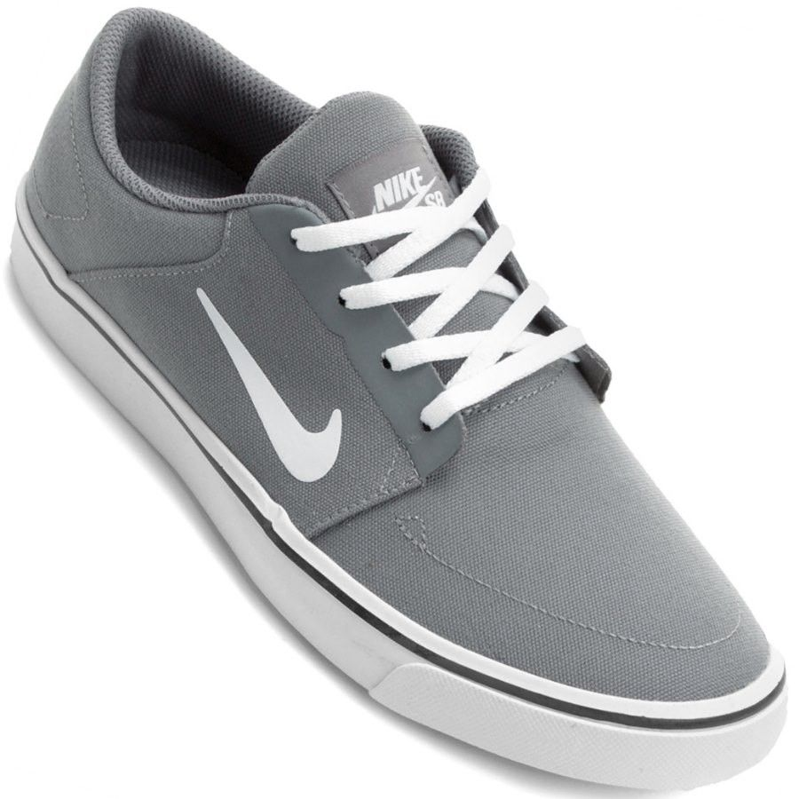 7ed1f34848 Tênis Nike SB Portmore Canvas Casual Masculino é ideal para compor sua  roupa street wear! Este tênis da Nike possui cano baixo