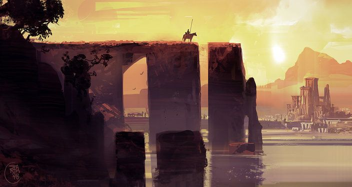 Medieval interlude by Sparth