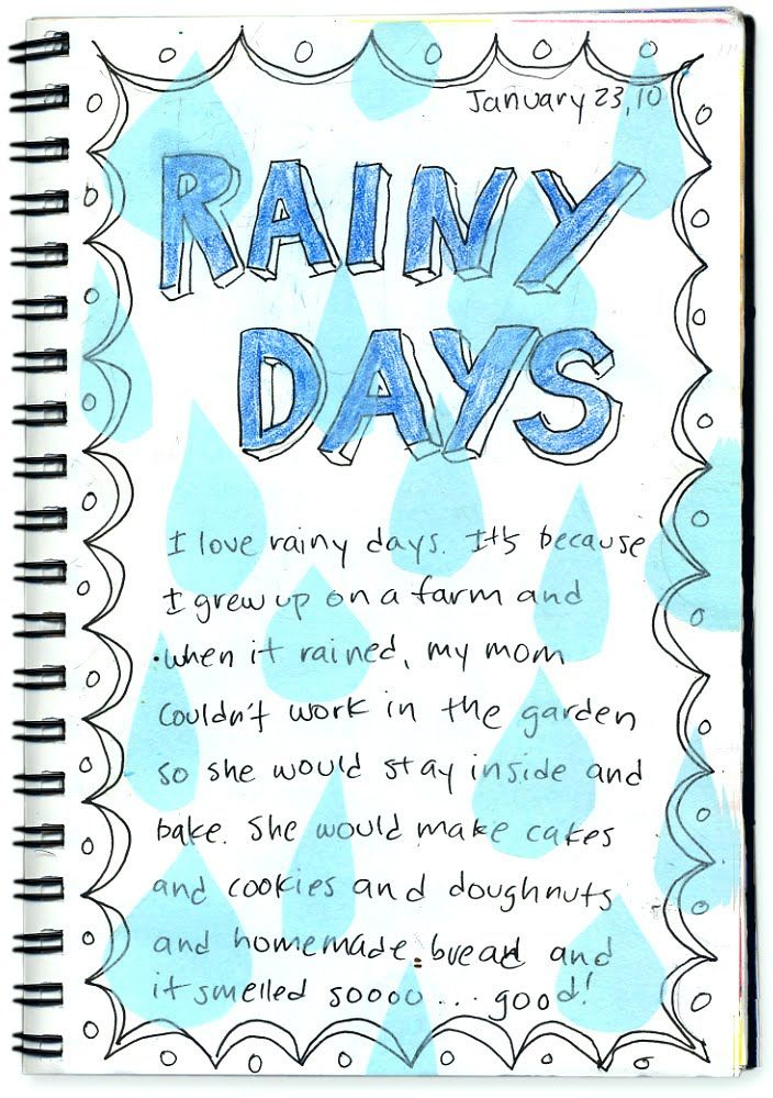 Rainy Days Creative Writing  Writing Ideas  Essay Writing Writing  Rainy Days Creative Writing Tissue Paper Raindrops Glued Over Creative  Writing