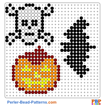 Halloween Perler Bead Pattern Download A Great Collection Of Free Pdf Templates For Your Perler Bead Hama Beads Halloween Halloween Beads Perler Bead Patterns