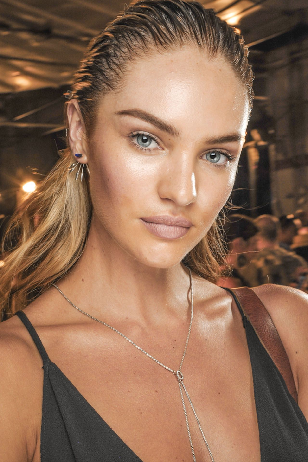 Watch Candice Swanepoel's Organic DIY Mask for a BrighterComplexion video