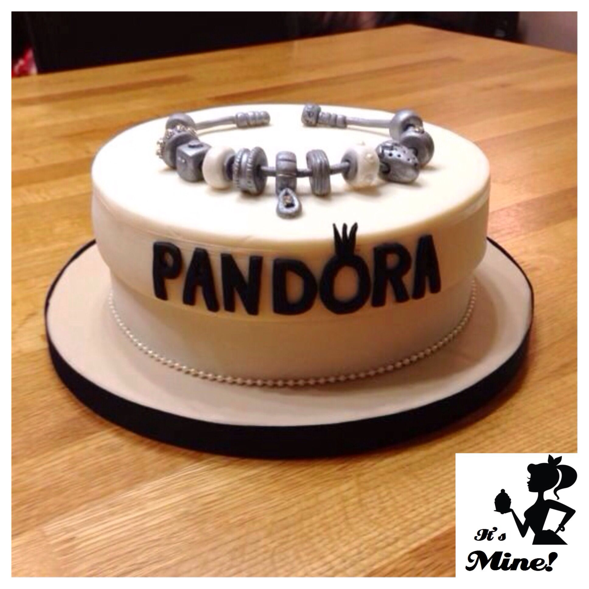 Admirable Pandora Charm Bracelet Cake Not A Gwp But Really Cool With Birthday Cards Printable Opercafe Filternl