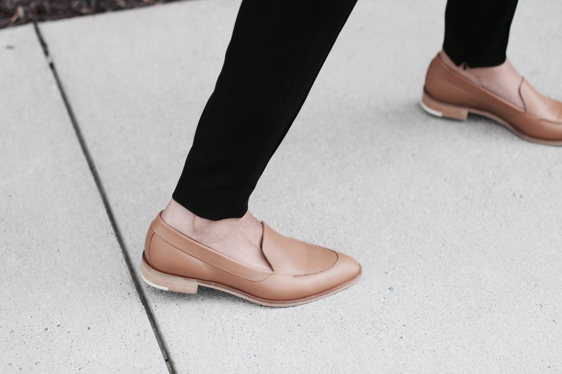 3063693fd10 Styling Loafers With Everlane