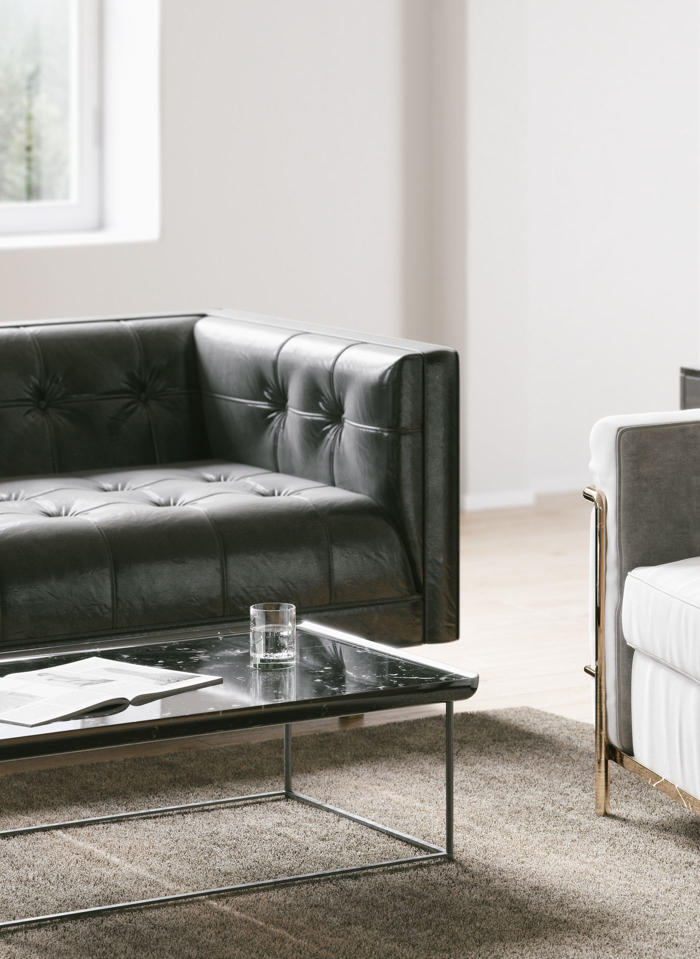 Autodesk Room Design: Living Room Side Table, 3d