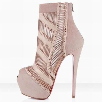 Louboutin Stitched Me Nude Boot