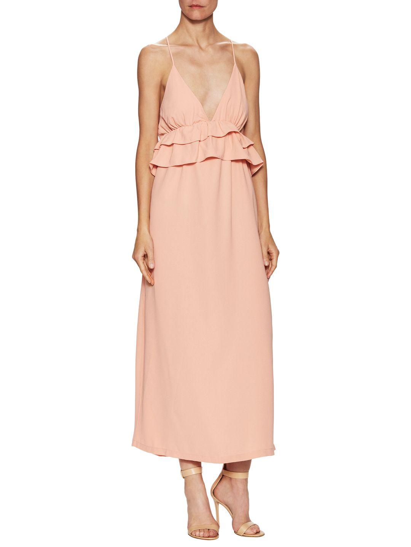 The letter ruffle maxi dress womenus fashion pinterest maxi