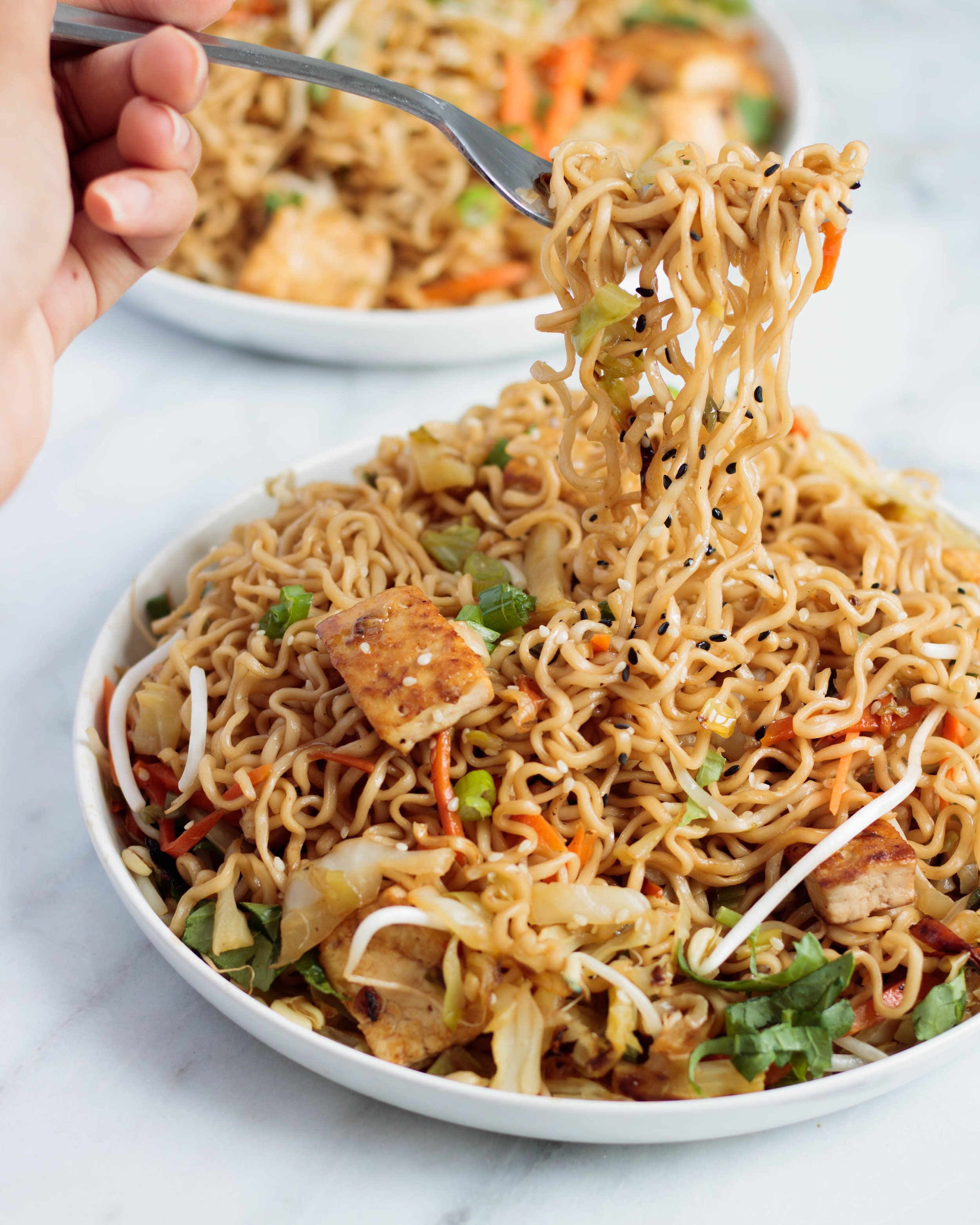 A vegan take on the classic Chinese takeout staple