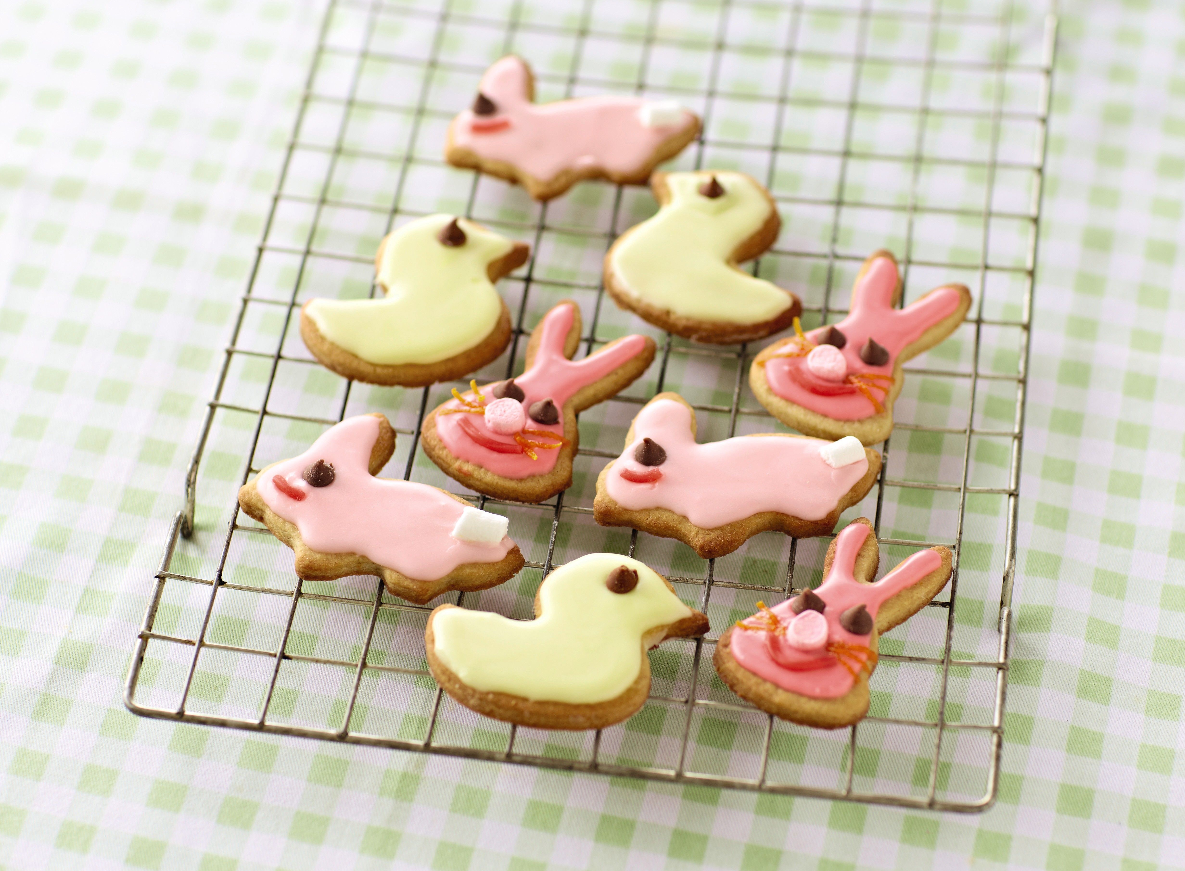 Easter biscuits recipe sweettooth win competition easter get the little ones baking this easter with this delicious iced biscuit recipe let them go wild with the decorations negle Images